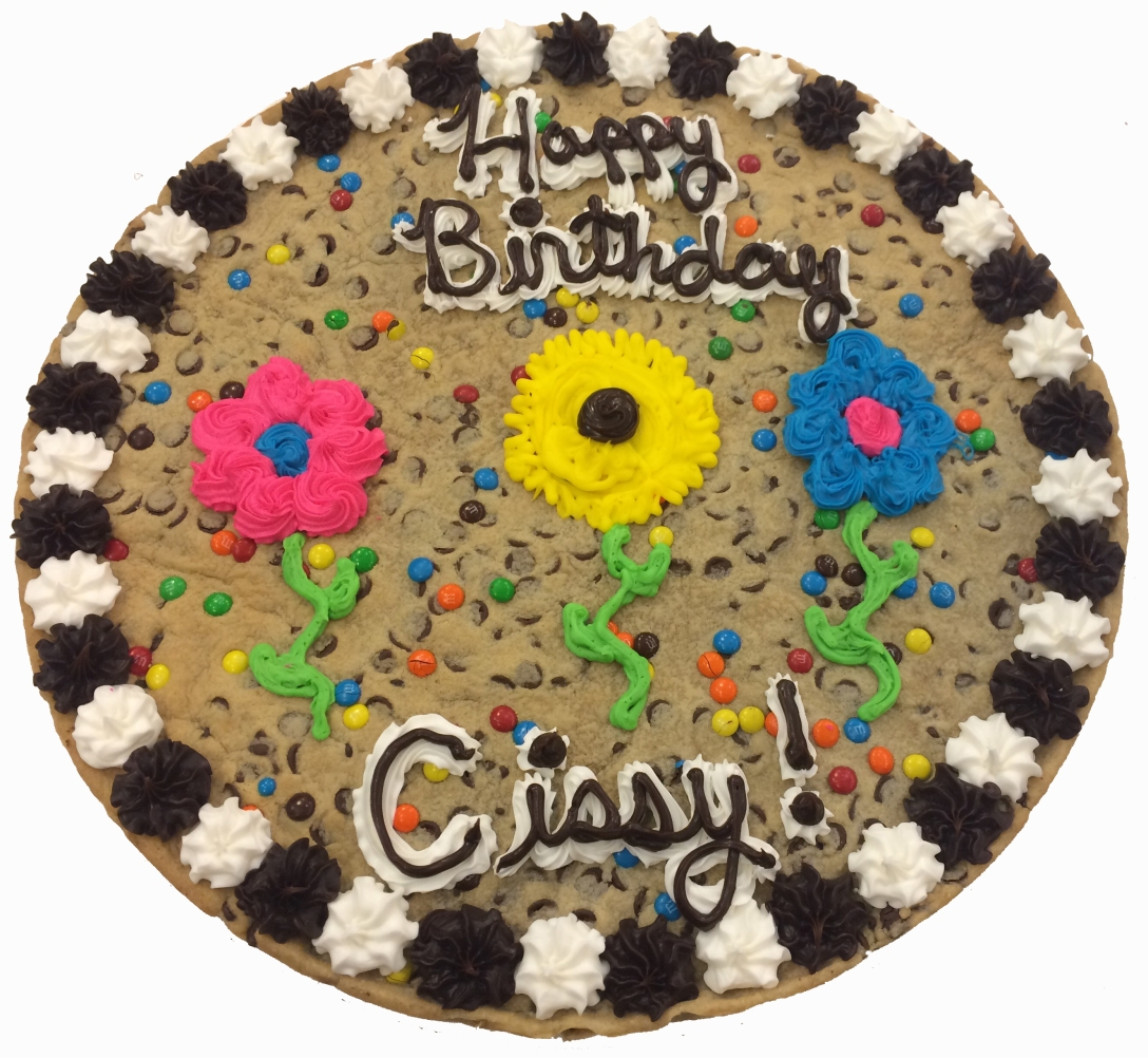 Order a cookie cake today!