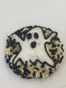 Spooky and sweet, this little ghost won't be haunting the table for very long